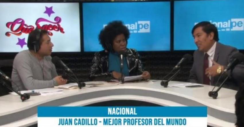 En concurso nacional reconoceremos a docentes y escuelas innovadoras, sostiene Juan Cadillo, Presidente del FONDEP - www.fondep.gob.pe