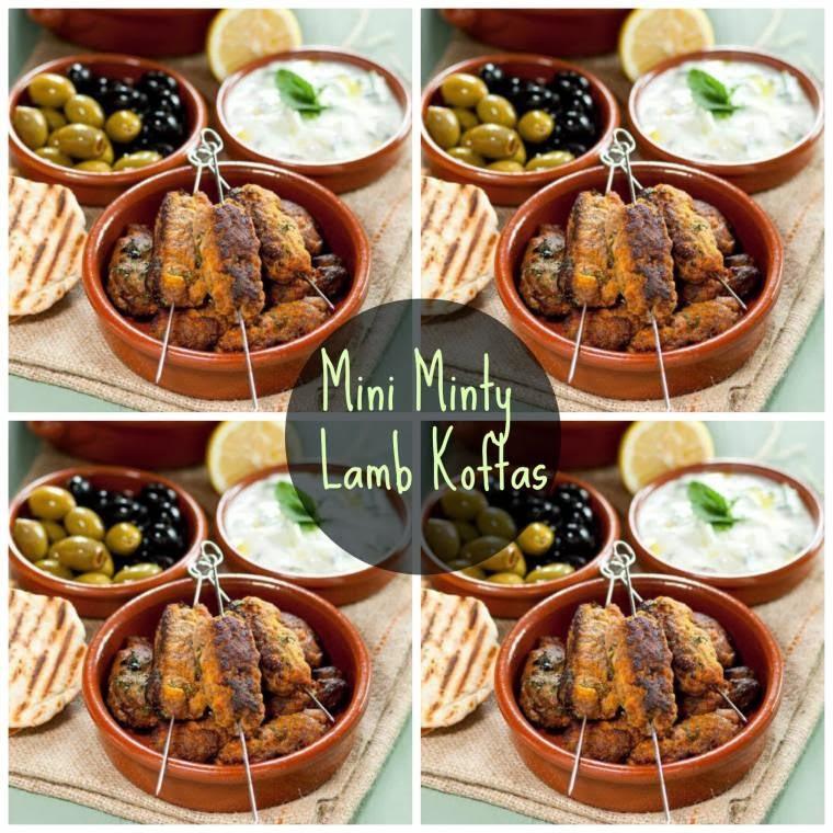 Mini Minty Lamb Koftas: Midweek Dinner Recipe Idea