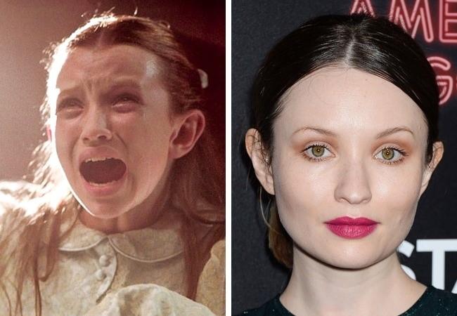O antes e o depois das atrizes de filme de terror que nos assustaram na infância
