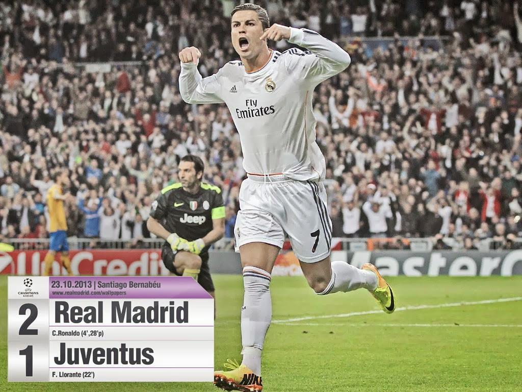 Real Madrid 1 2: Cristiano Ronaldo 7: Real Madrid 2 - 1 Juventus