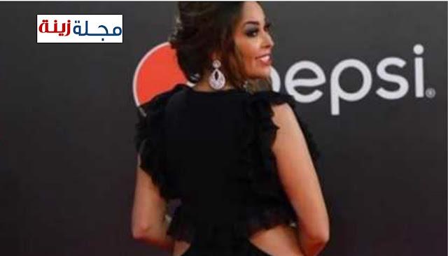 رانيا يوسف وداليا البحيري بنفس الفستان الجرىء في حفل دير جيست