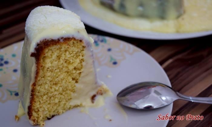 Como fazer bolo vulcão