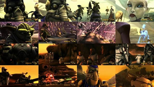 Star Wars La guerra de los clones Temporada 1 Completa Latino