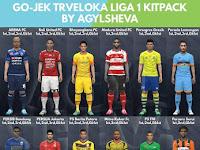 PES 2017 Liga 1 Gojek Traveloka Kitpack dari Agylsheva