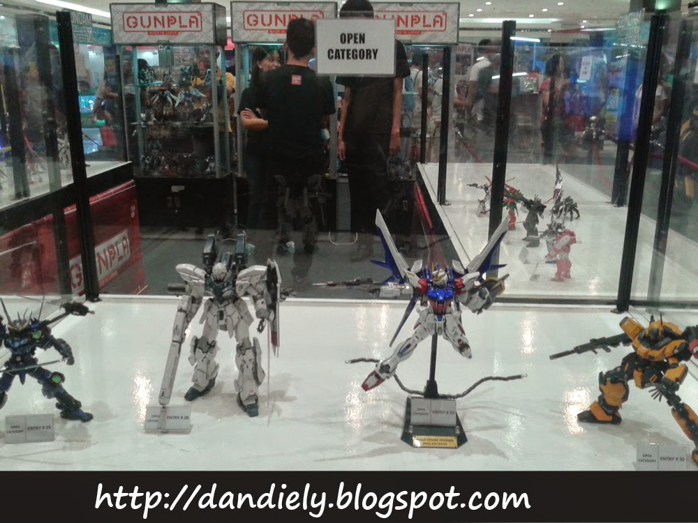 Gunpla Entries and Exhibit - Gundam Model Kit Contest 2014 Philippines