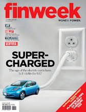 Latest Work: 6 page cover feature on Electric Vehicles, published in June 2013 FINWEEK magazine.