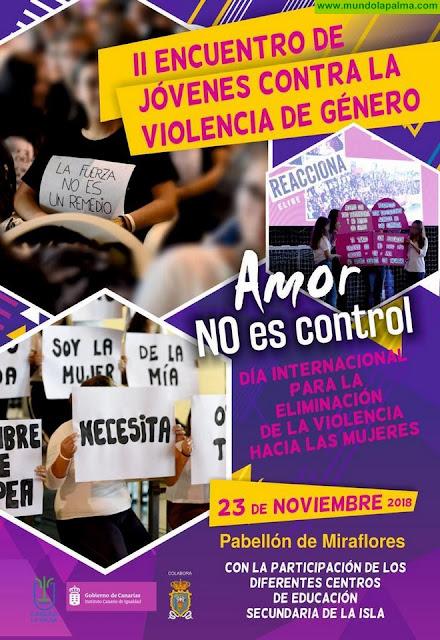 El Cabildo reúne este viernes a unos 600 jóvenes estudiantes de la isla para mostrar su rechazo a la violencia de género