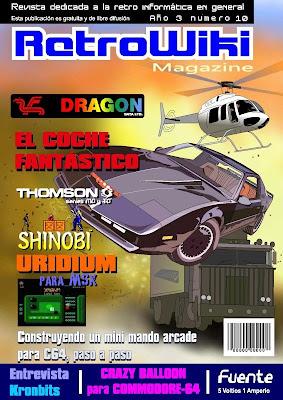 RetroWiki Magazine Nro 10 - El Coche Fantástico