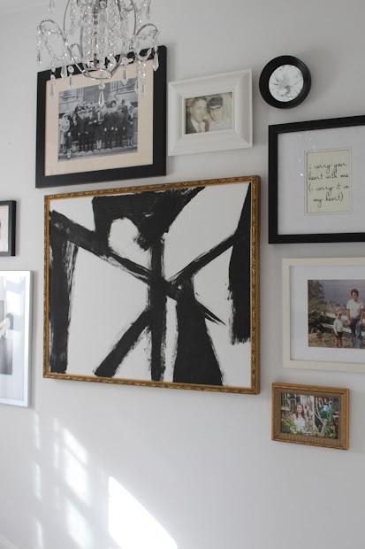 Modern Jane Diy Abstract Brush Stroke Art