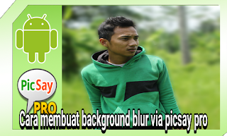 Tutorial background blur seperti dslr