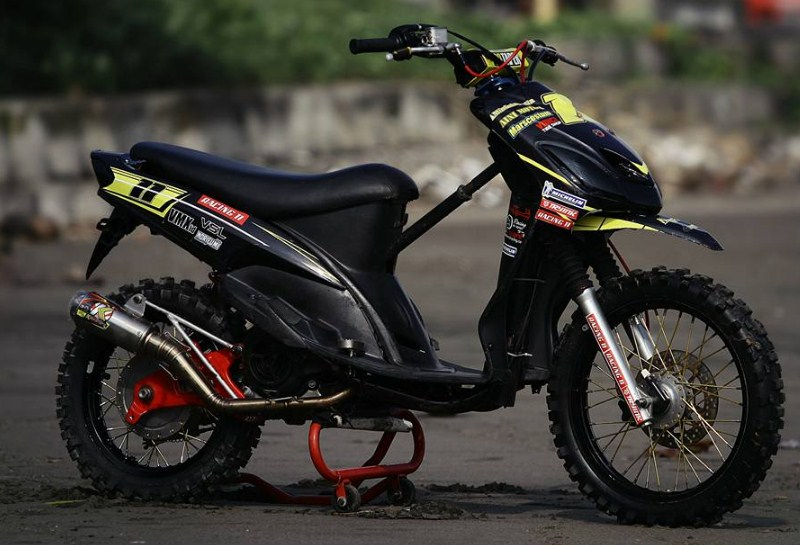 referensi modifikasi mio grasstrack