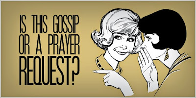 Image result for church gossip