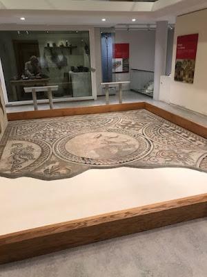 Corinium Museum mosaic, Cirencester
