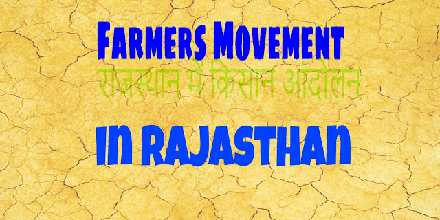 Farmers Movement in Rajasthan