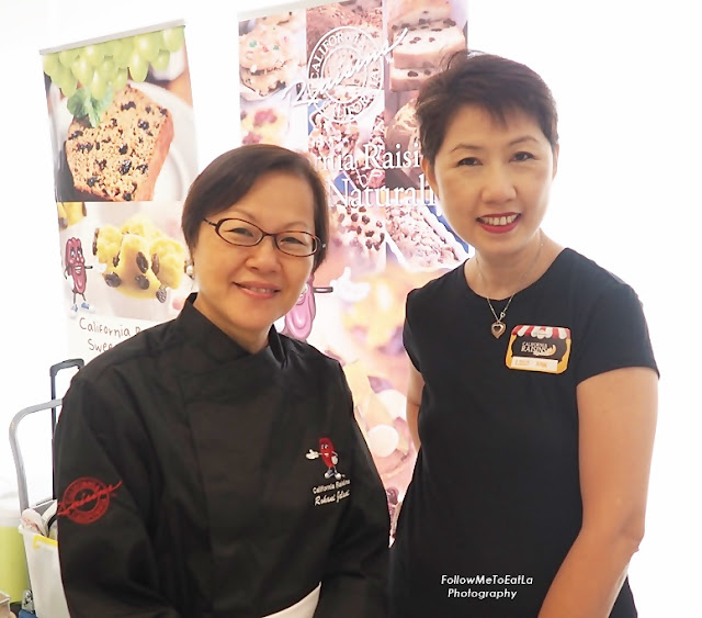 CALIFORNIA RAISINS RAYA MANIS WITH CHEF ROHANI JELANI'S RAISIN-INSPIRED DISHES & DESSERTS