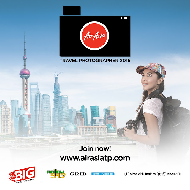 AirAsia Travel Photographer 2016