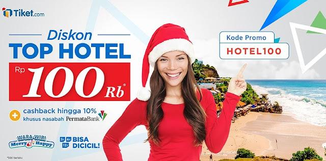 Promo-natal-tiketcom-diskon-top-hotel