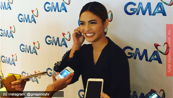Lovi Poe renews contract with GMA Network