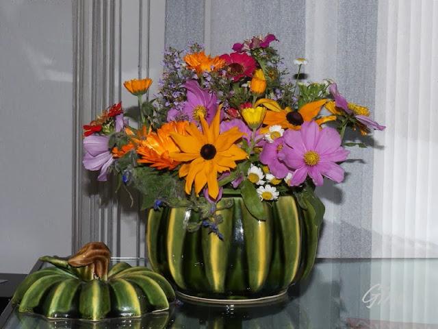 Extrêmement Au jardin de Gine: Bouquets ZS25