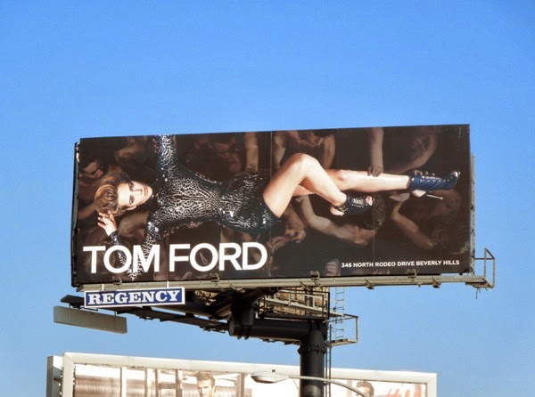 Tom Ford Esther Heesch SS14 fashion billboard