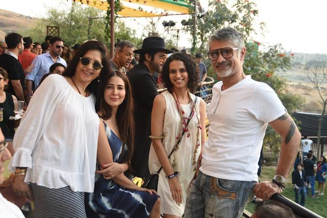 Mitali Kakkar, Kim Sharma, Aparna Bablani and Arjun Khanna