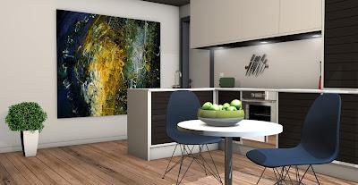 gambar dekorasi dapur