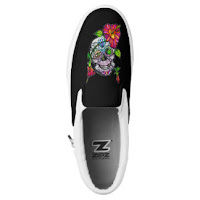 https://www.zazzle.com/sugar_skull_flower_slip_on_sneakers-256156170458313711