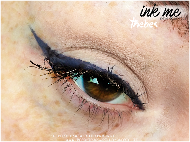 THEBES APPLICAZIONE INKME EYELINER NEVE COSMETICS REVIEW RECENSIONE
