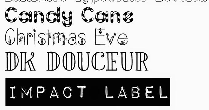 Vidunderlige Virvar: Favorit: Nye og gratis fonts