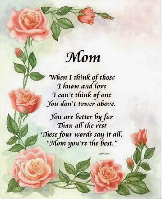 Best mothers day poems from daughter to mother