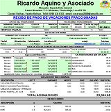 Programa en Excel para calcular vacaciones Vencidas en el sector construcción