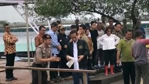 Tangan Jokowi Berdarah Kepatil Udang