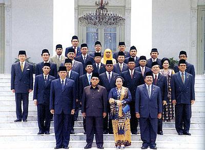 Susunan-kabinet-masa- pemerintahan-Gus-Dur