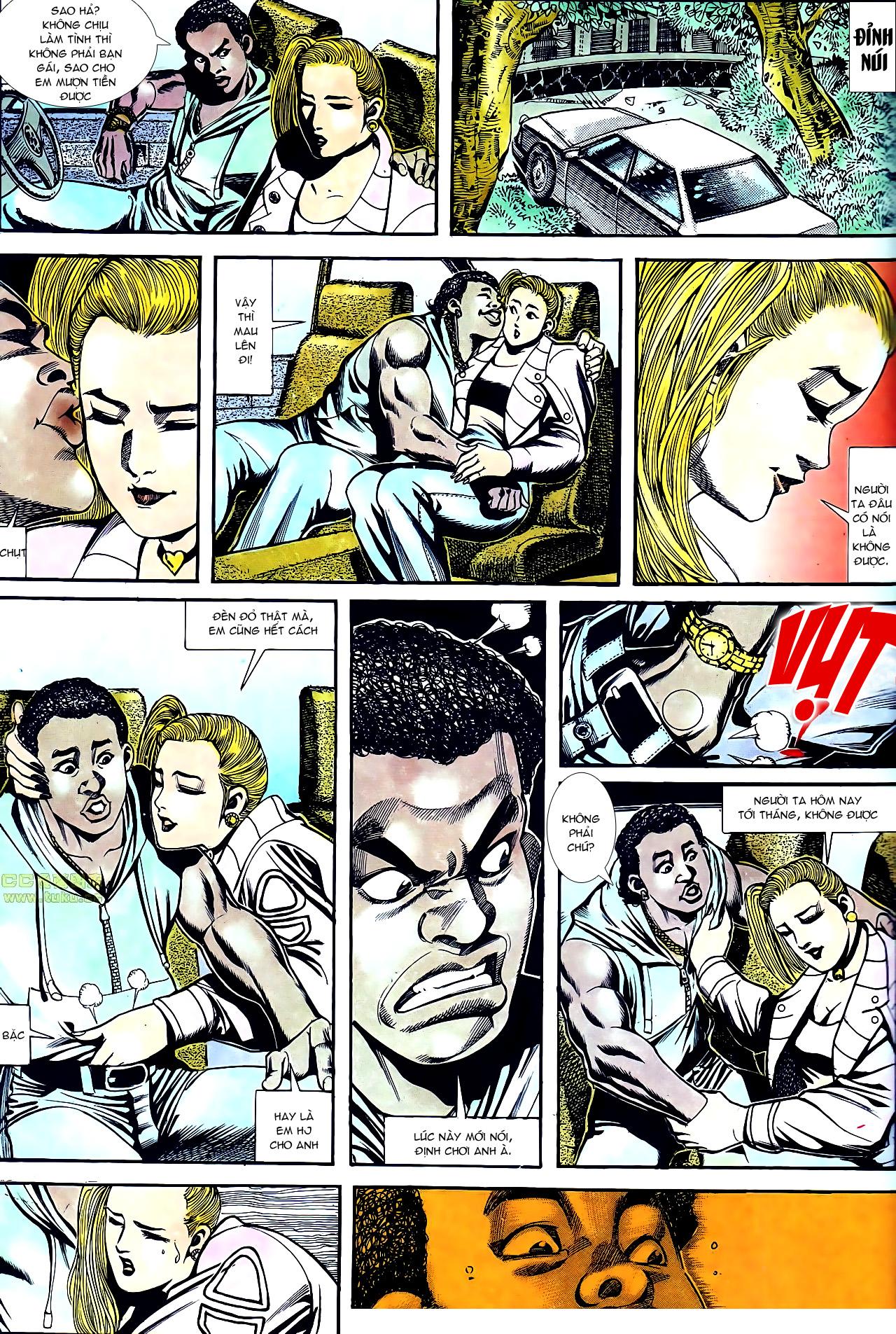 Người Trong Giang Hồ chapter 160: chém đại phi trang 13