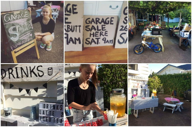 Our garage sale was unlike your usual garage sale (it was cuter)