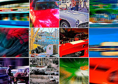 Ny kunst - automobile art: