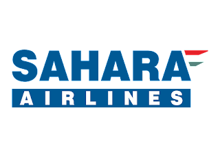 Sahara Airlines Logo Vector
