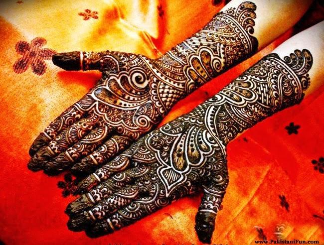 Bridal Mehndi Latest Design : Latest wedding bridal mehandi designs ~ makeup and beauty tips