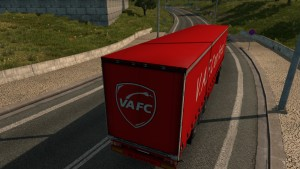 VAFC skin for Iveco Hi-Way + trailer