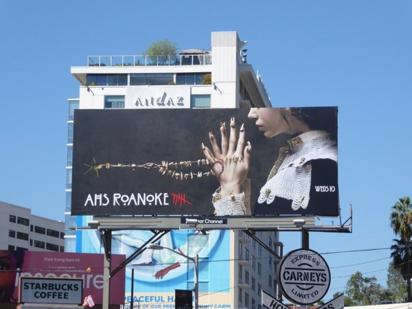 American Horror Story Roanoke billboard