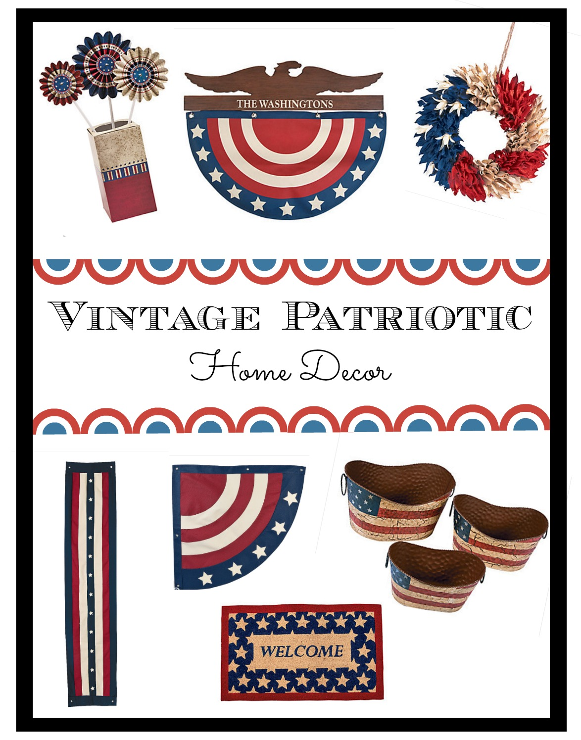 vintage patriotic home decor we got the funk 10 best 4th of july 2016 indoor amp outdoor decorations set