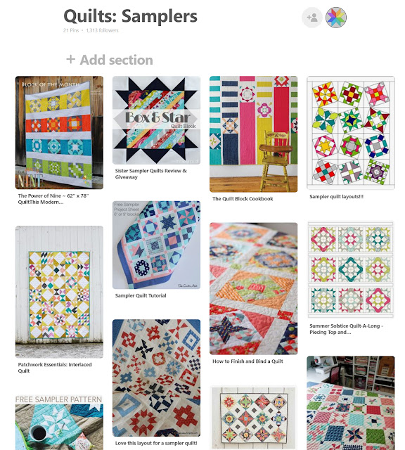 Sampler quilt pinterest board