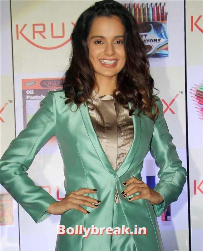 Kangana Ranaut, Kangana Ranaut at Krux Stationery Products Launch