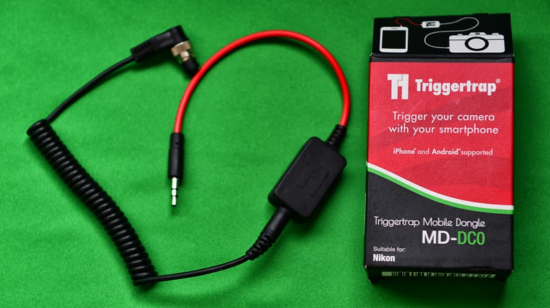 triggertrap dongle for nikon (dc0, 9 pin connector)