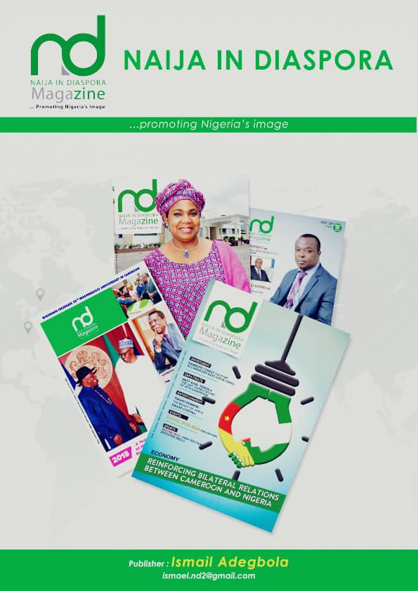 Exclusive review of Naija in Diaspora Magazine by Yeba Media Group