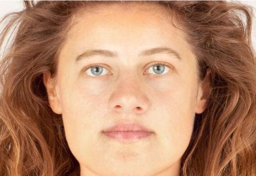 Reconstrucción facial de «Ava»