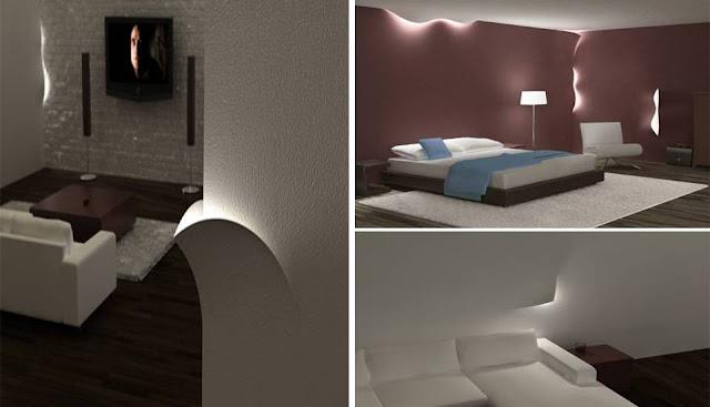 Torn Lighting LED concept design