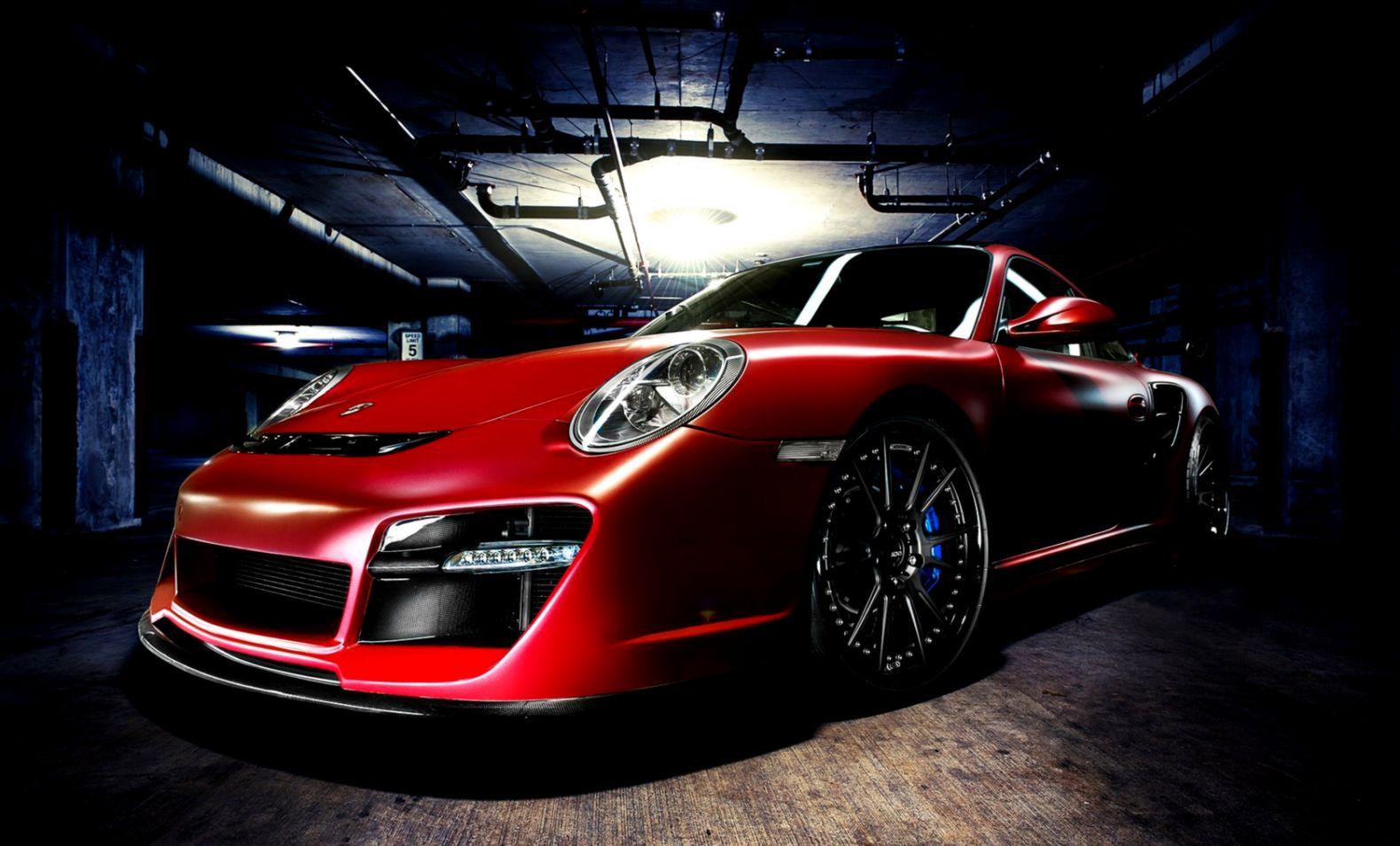 Porsche 911 Red Car Hd Wallpaper Wallpapers Awards