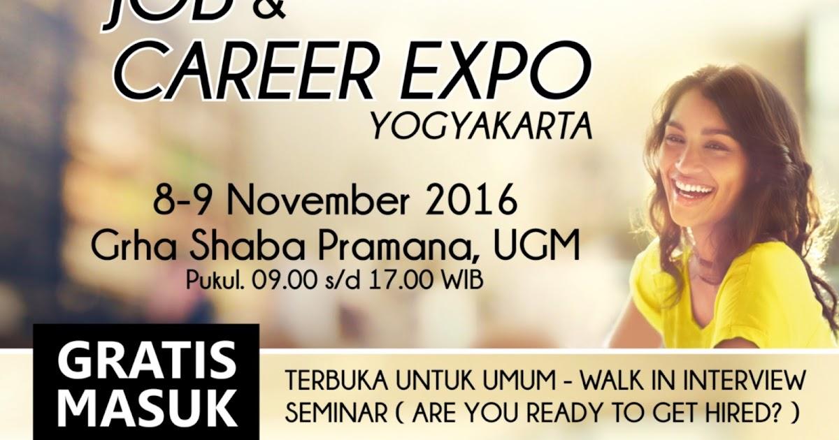 Job & Career Expo di Grha Shaba Pramana Universitas Gajah ...