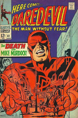 Daredevil #41, the death of Mike Murdock